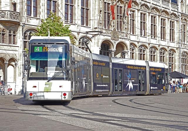 Strassenbahn in Dresden